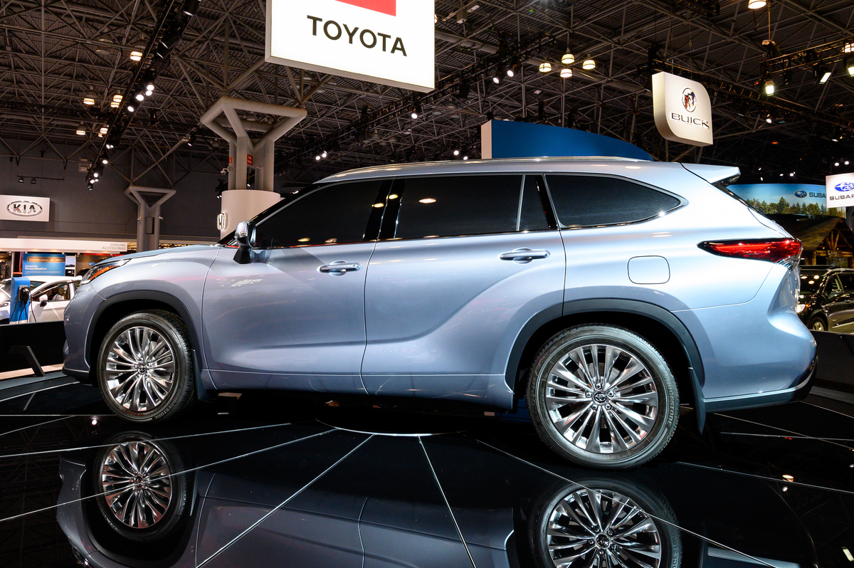 Toyota Highlander Platinum AWD