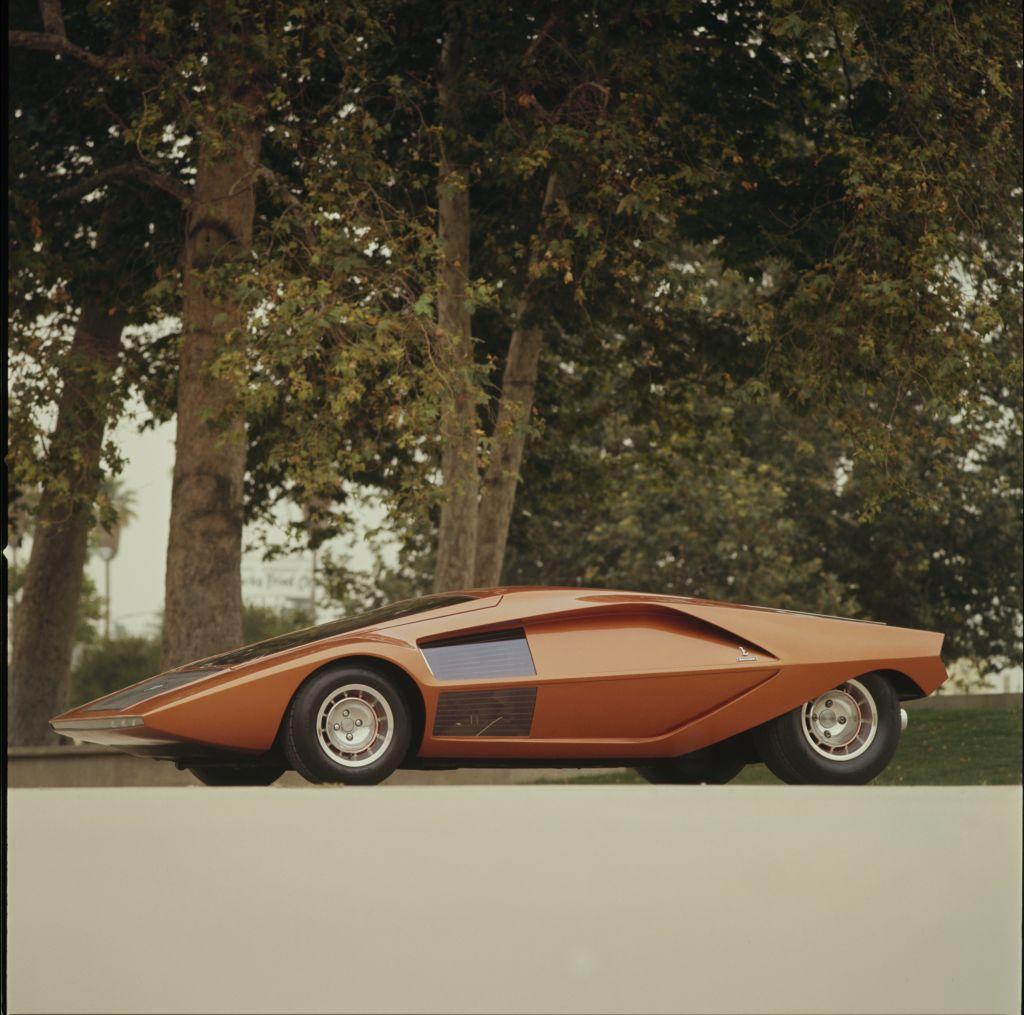Lancia Stratos HF Zero Prototype