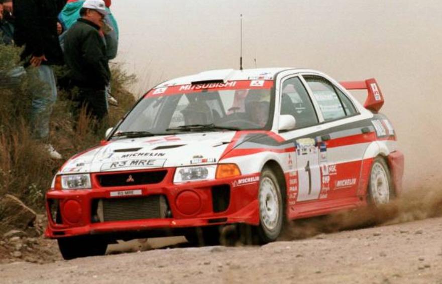 Mitsubishi Lancer Evolution Tommi Makinen