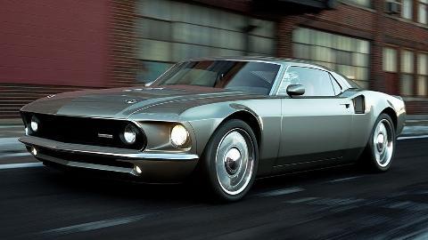 Mach 40 Mustang restomod