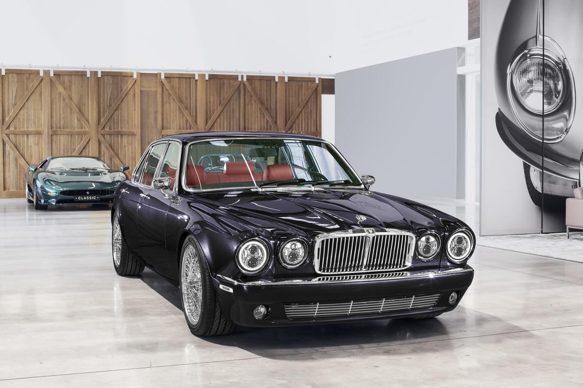 Jaguar Classic XJ6 restomod