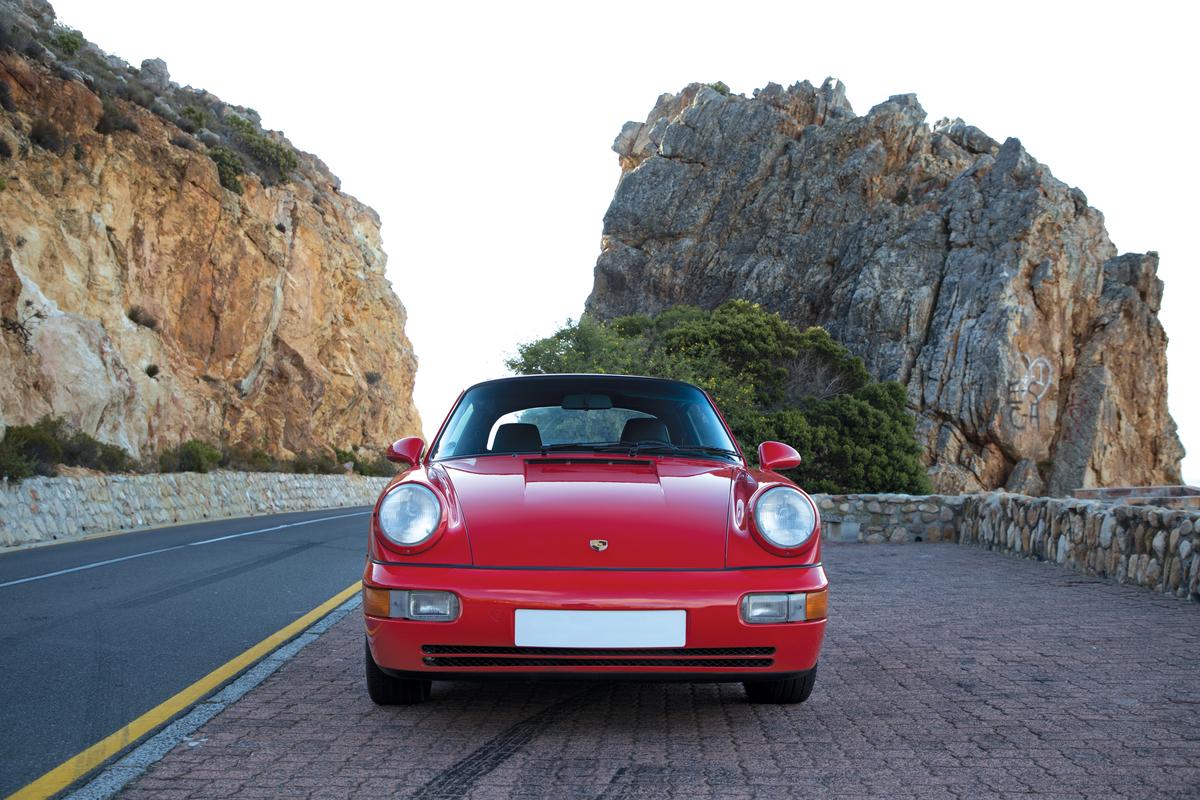 Porsche 964 Carrera 2 Cabriolet Location Shoot, South Africa