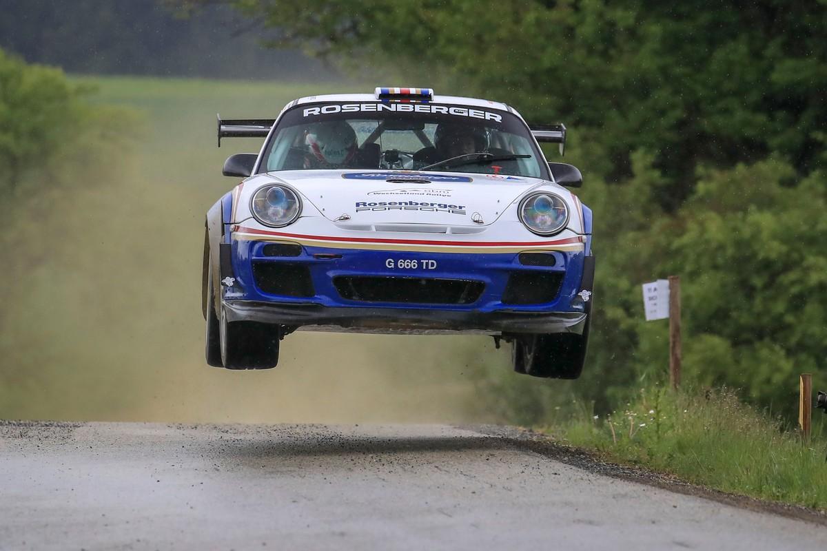 flying through the air -- OBM Wechselland Rallye 2019
