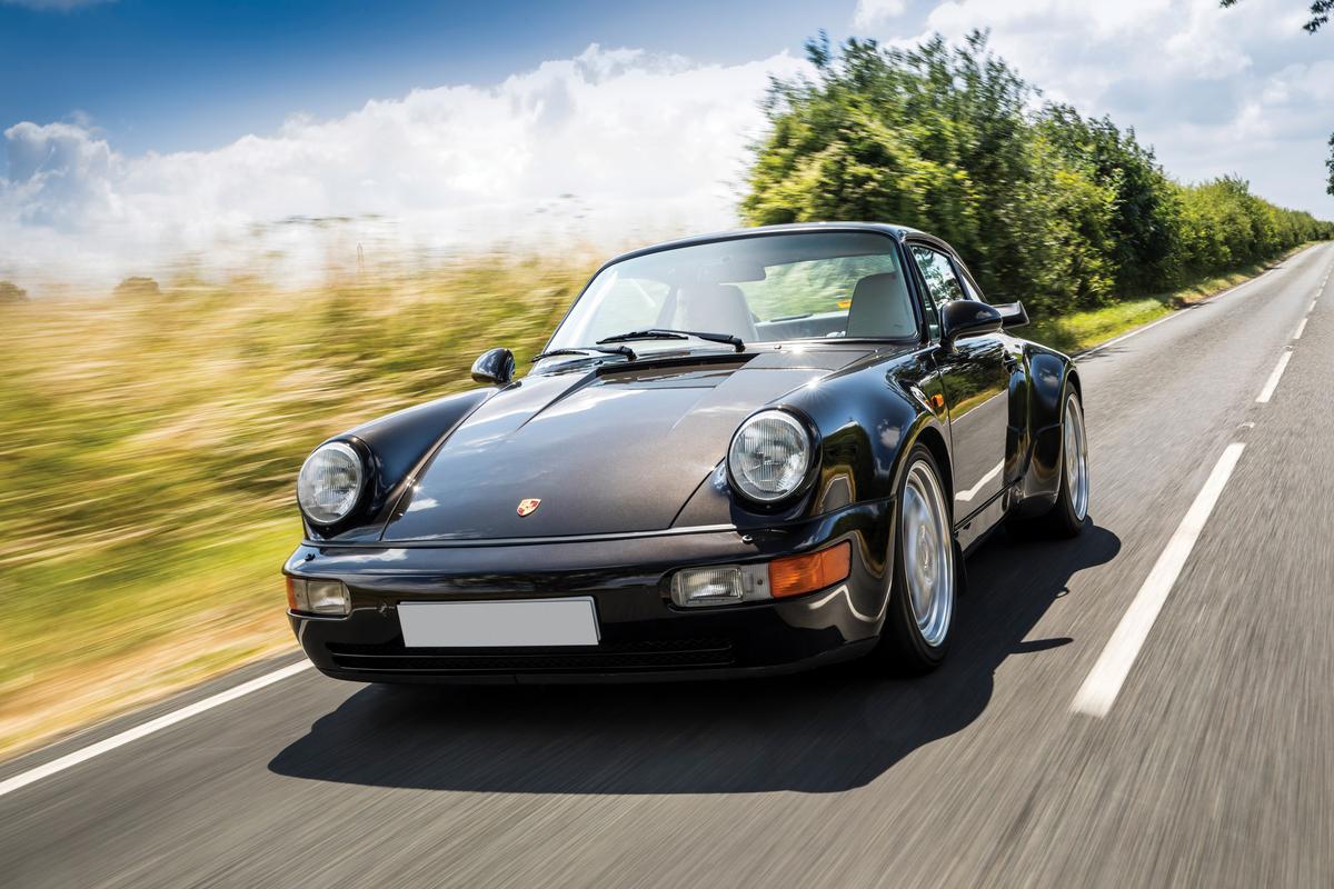 964-era Porsche Location Shoot