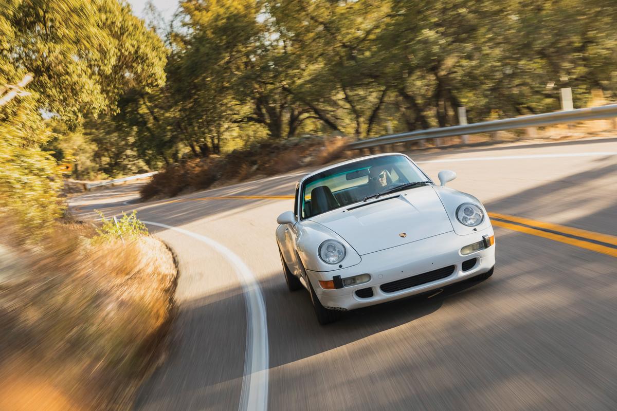 1997 Porsche 993 C2S, San Diego