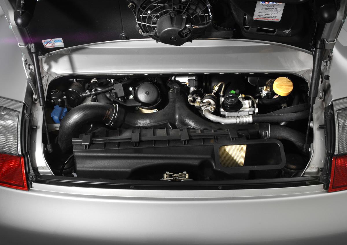 Trunk of 2005 Porsche 996 Turbo