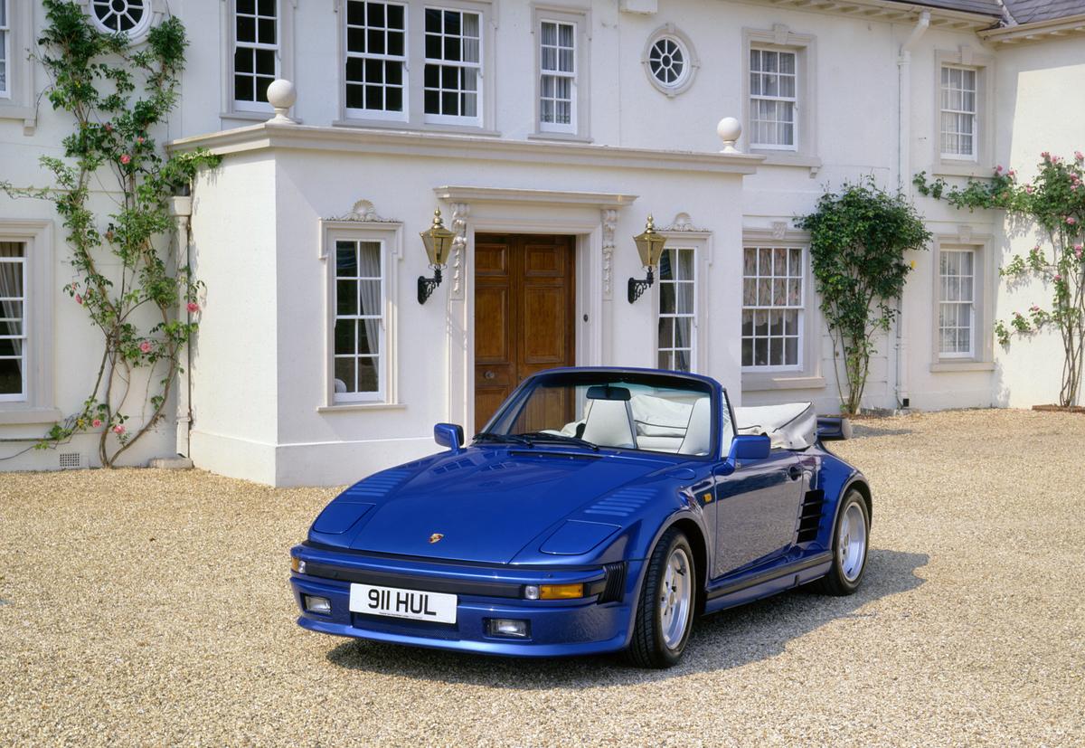 1989 Porsche 911 Turbo SE Cabriolet