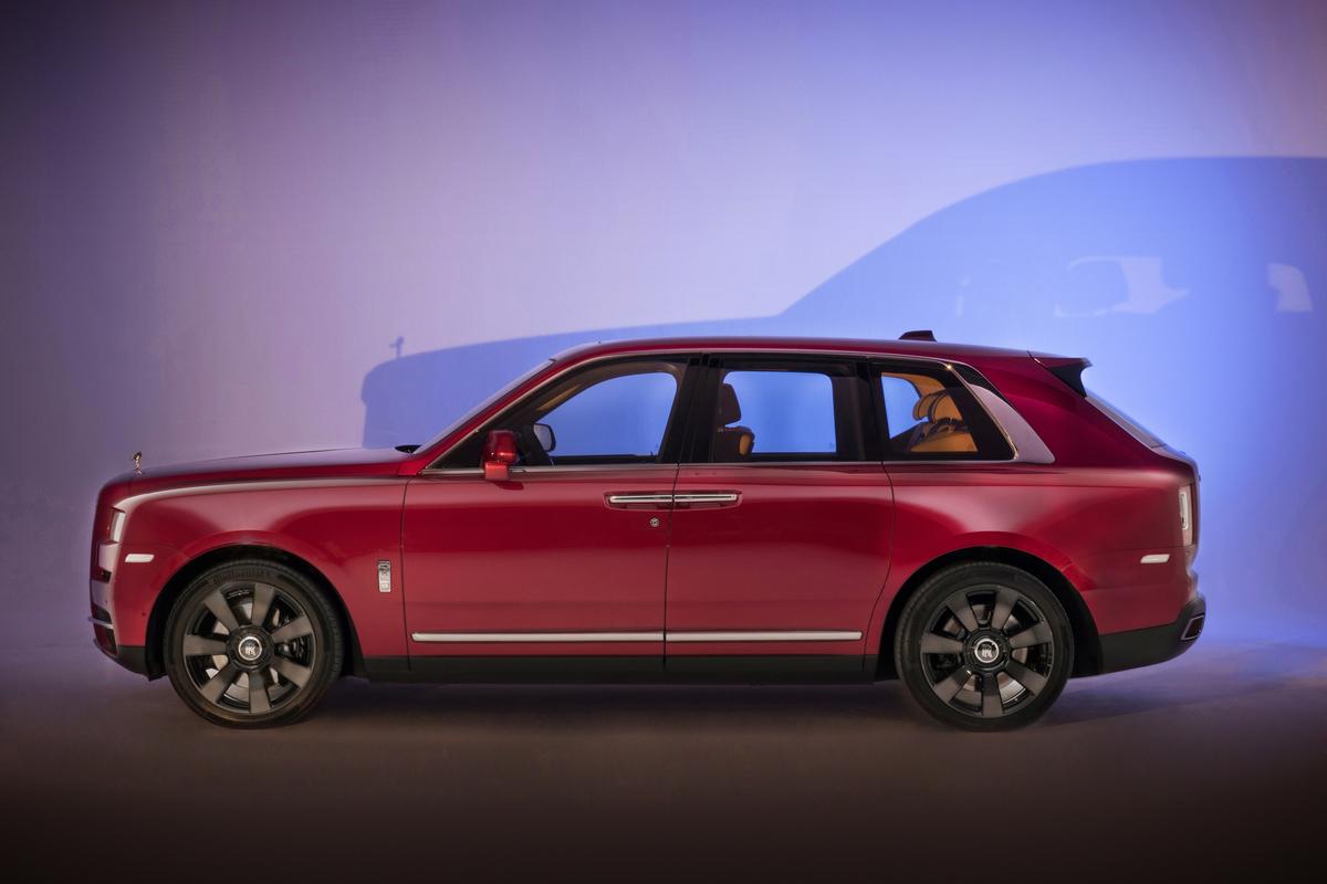 Rolls Royce Cullinan 2018 - Rolls Royce's First SUV