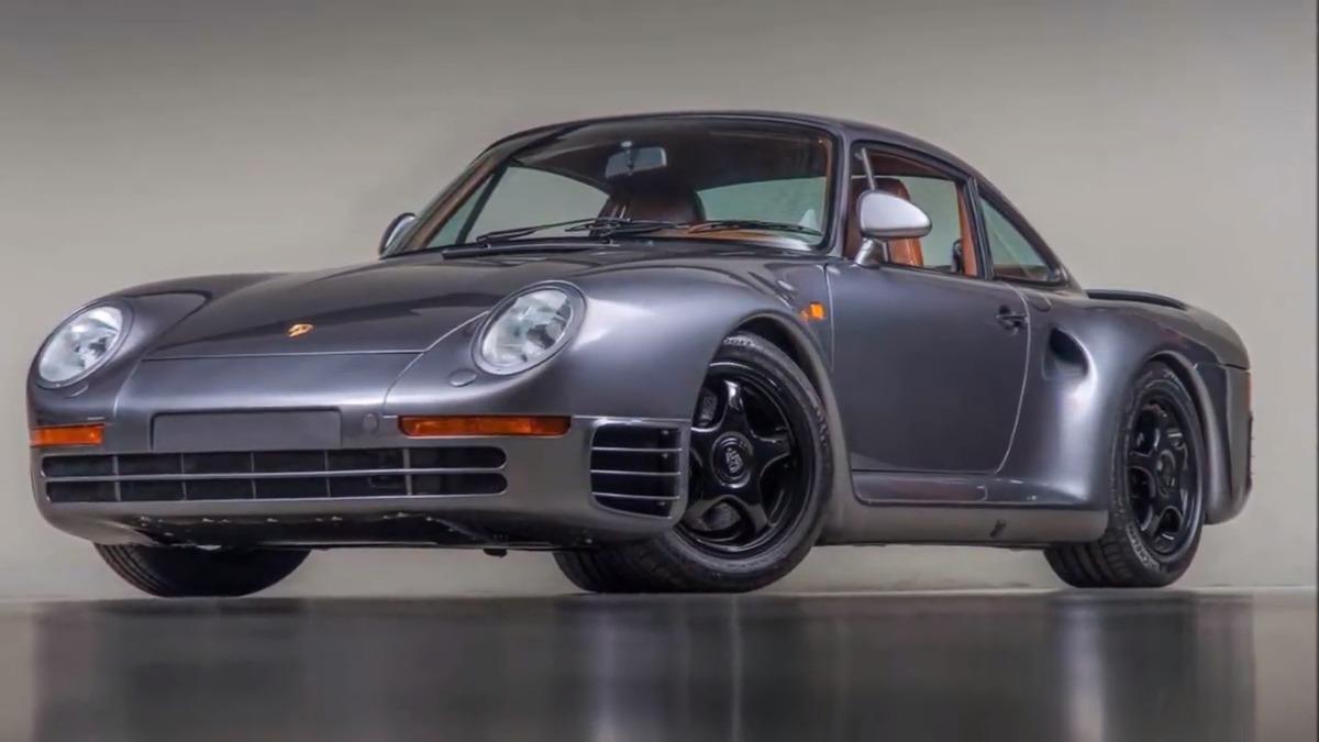 Canepa Porsche 959SC restomod