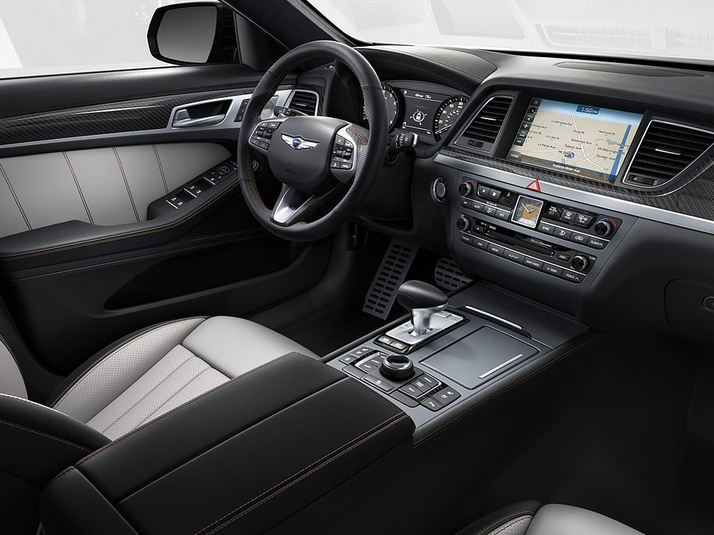 G80 interior