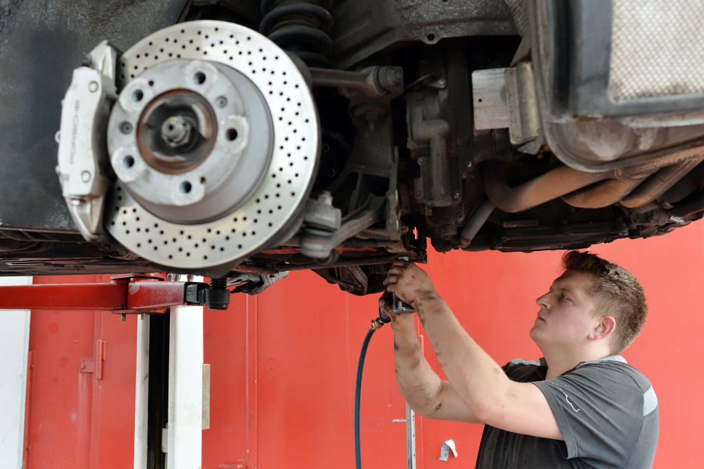 Installing New Brakes