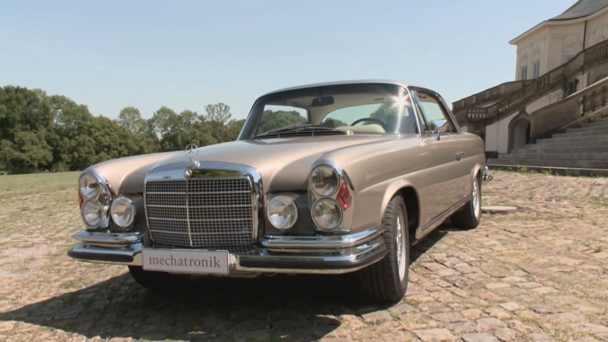 Mechatronik Mercedes-Benz M-Coupe restomod