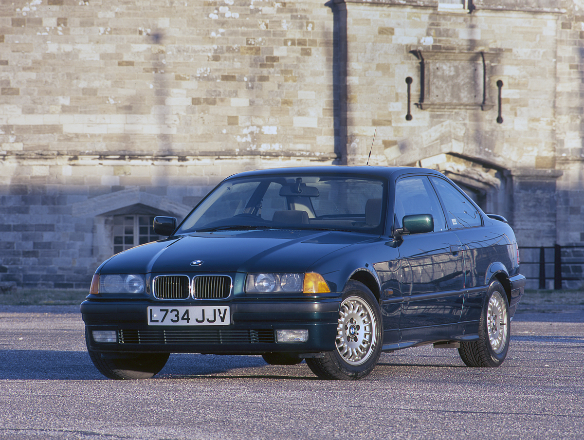 1993 Bmw 318Is. Creator: Unknown.