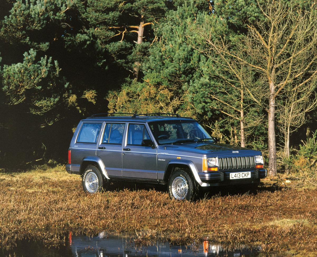 1993 Jeep Cherokee 4.0 Litre.