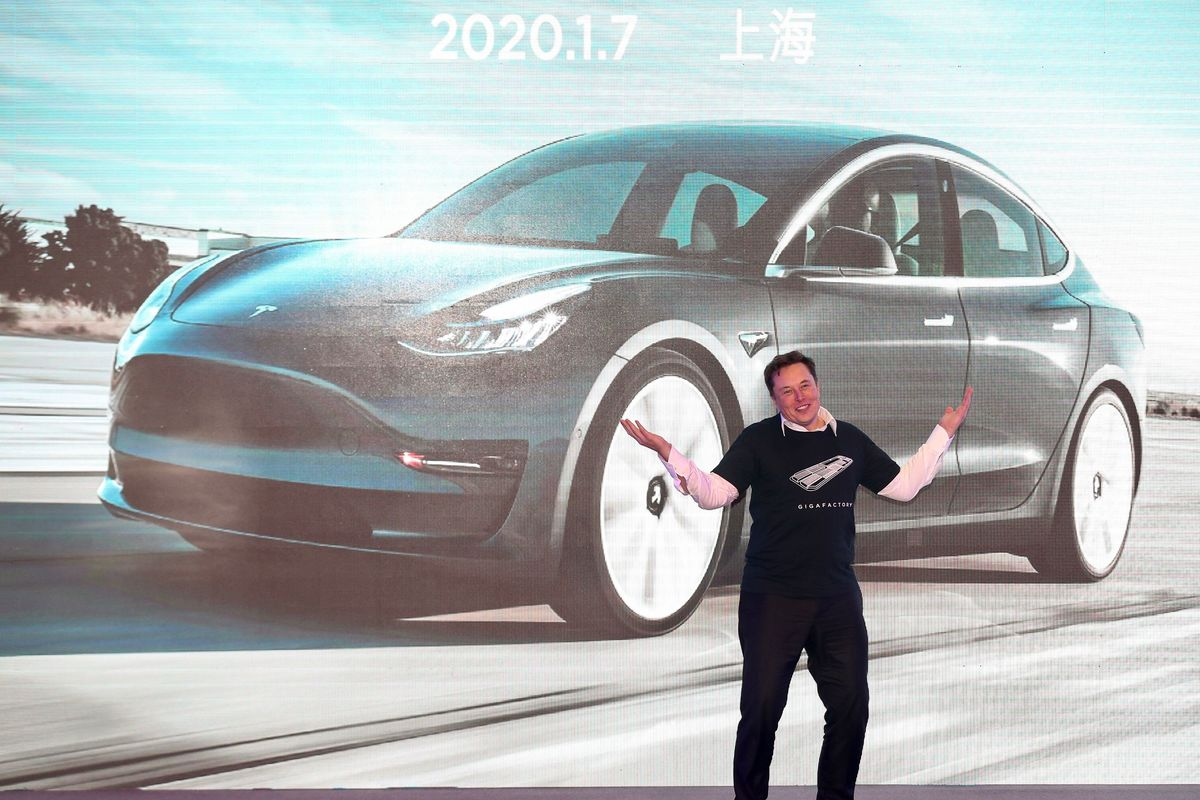 CHINA-AUTOMOBILE-MANUFACTURING-TESLA-US