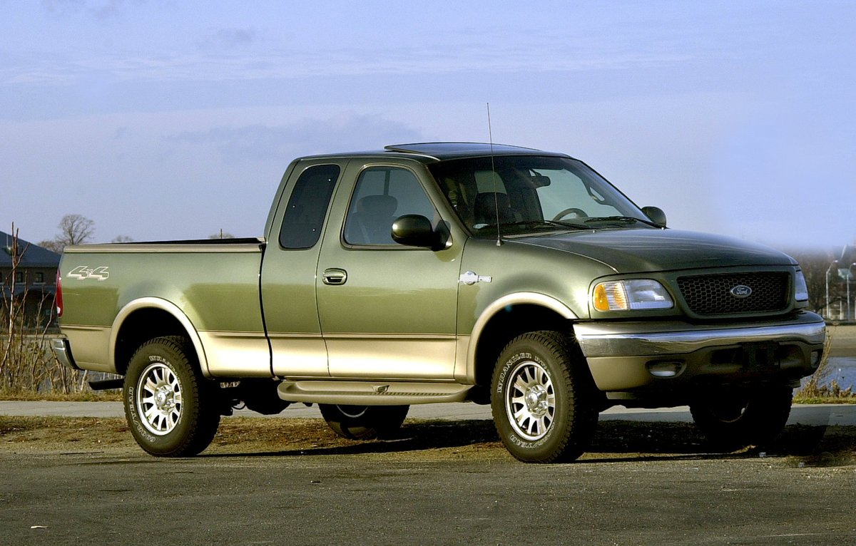 2002 Ford King Ranch F-150 Super Cab