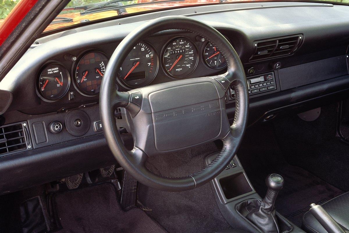 Interior Of 1997 Porsche