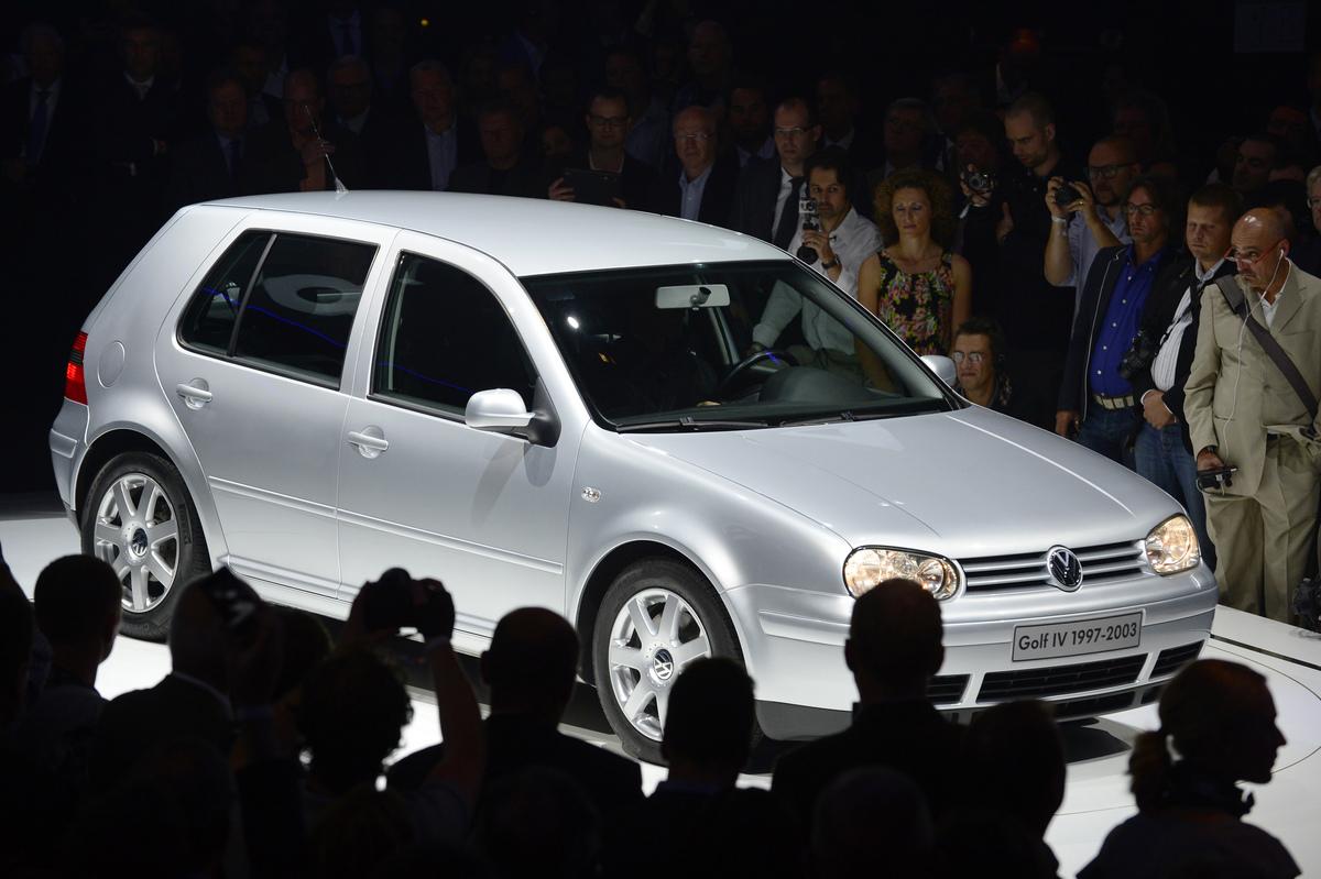 GERMANY-COMPANY-AUTO-VW-GOLF-PRESENTATION