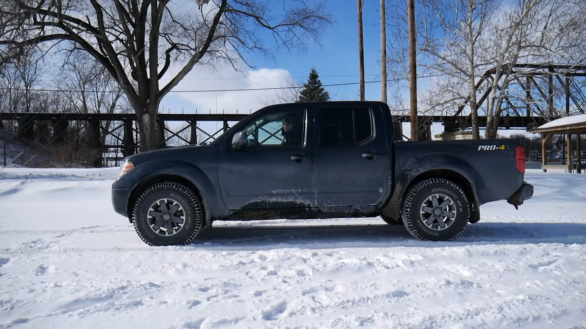 nissan frontier towing