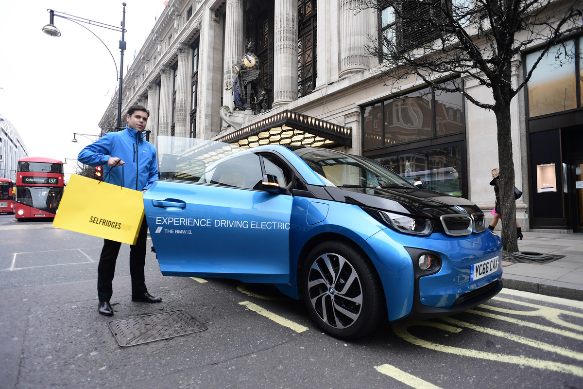 Selfridges Goes Electric With BMW i3 Chauffeur Service