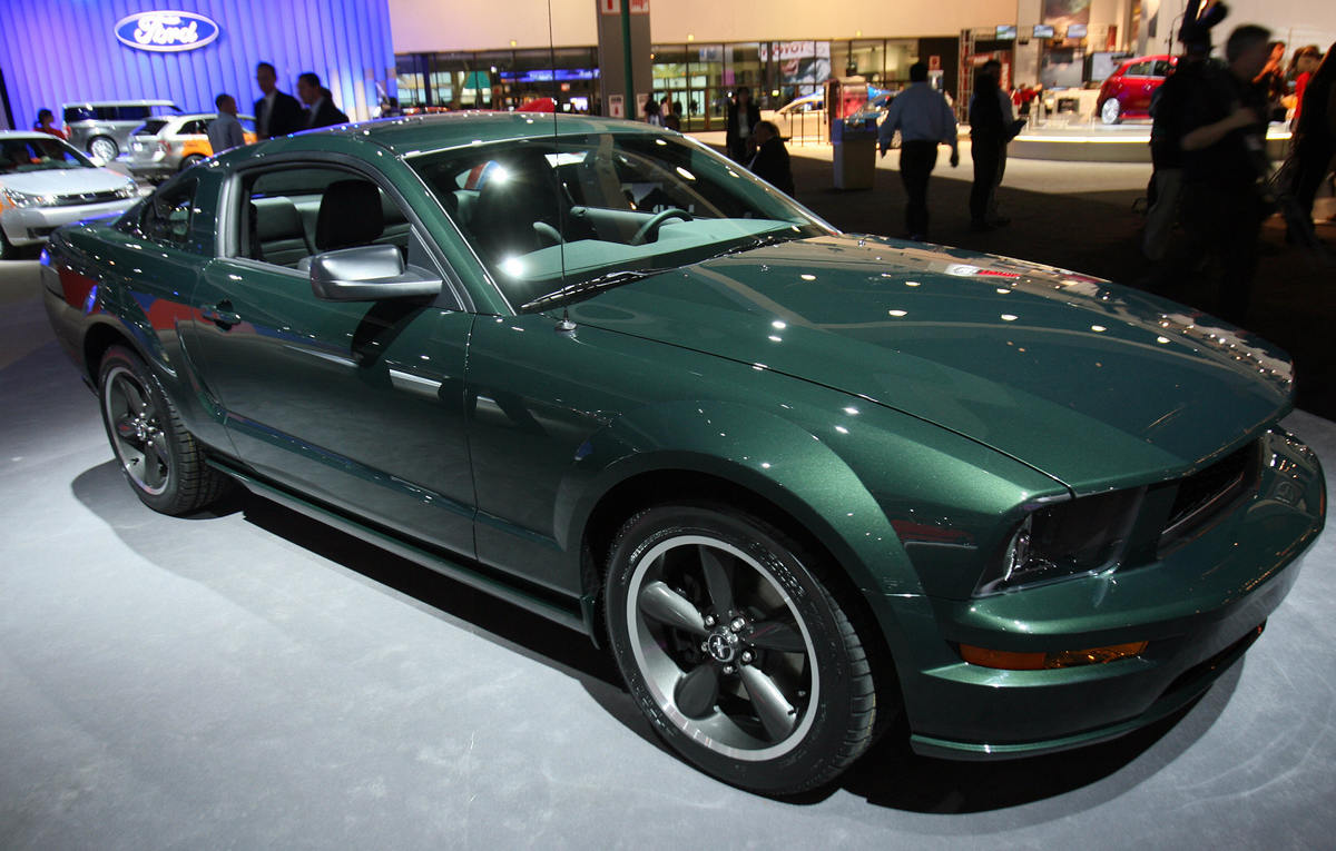 The new Ford Mustang Bullit