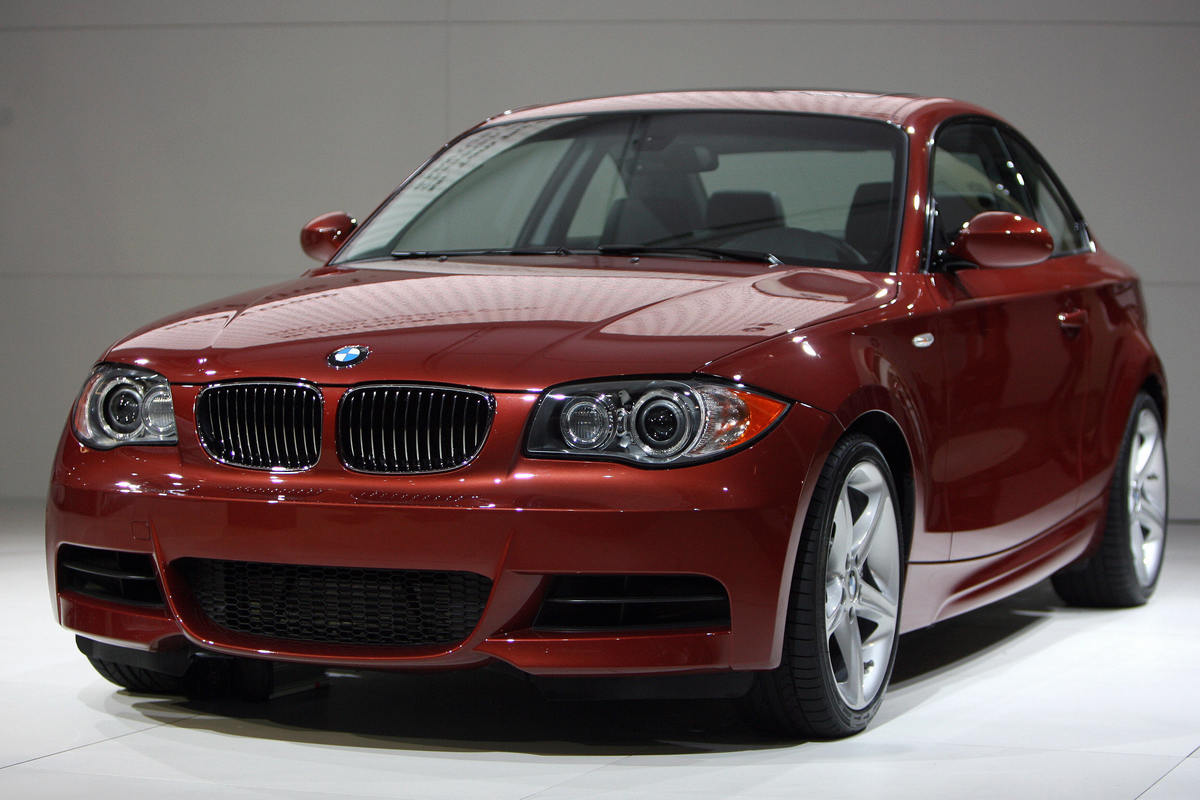 The new BMW 135 I is unveiled during the