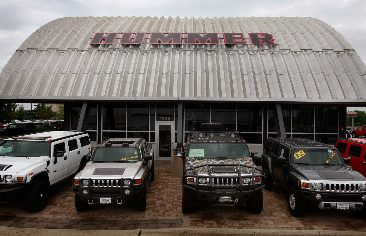 General Motors Reaches Tenative Agreement To Sell Hummer Brand