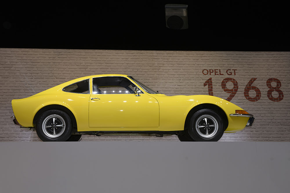 opel gt german