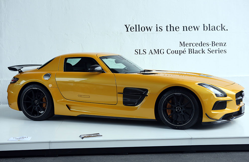 sls amg german car