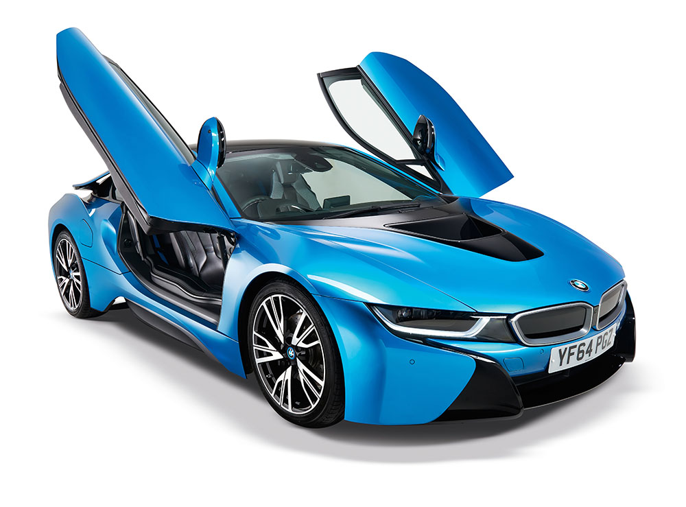 bmw i8 german car