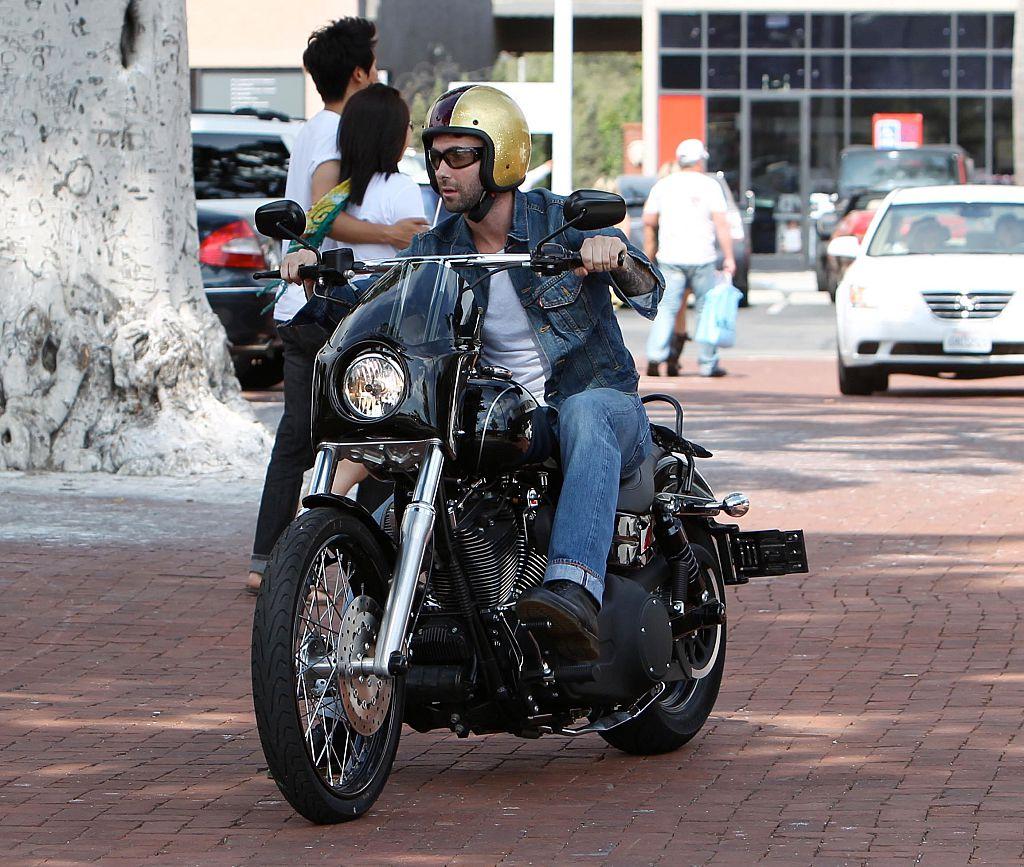 happy on his bike