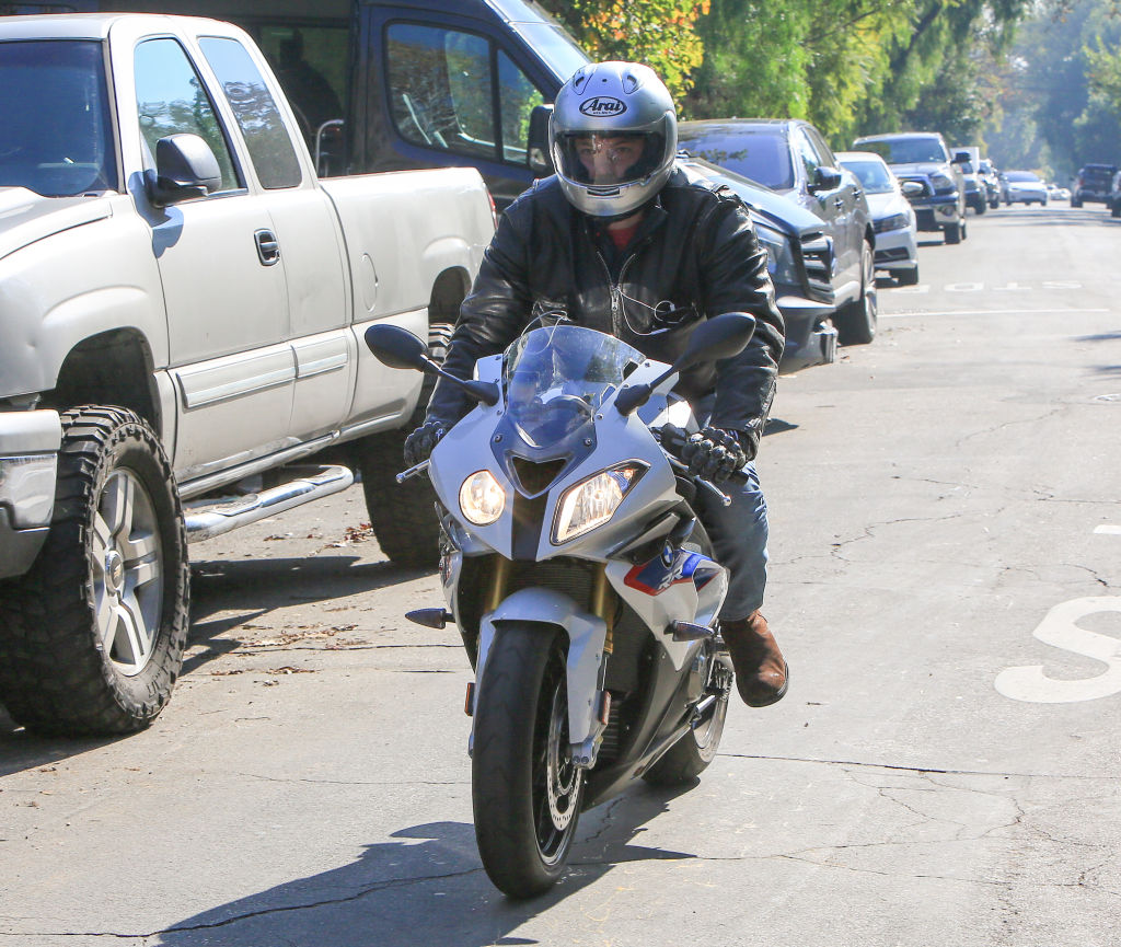 cruising the streets of LA