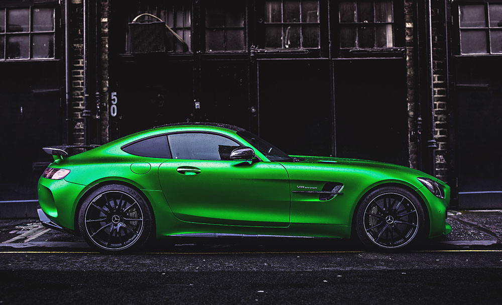 amg gt german car