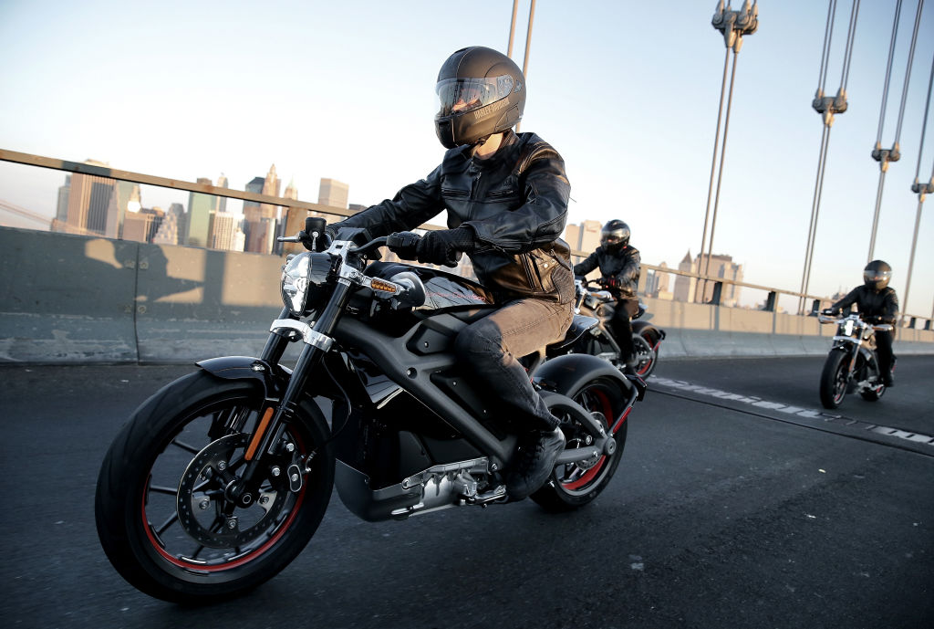 Harley-Davidson riders reveal Project LiveWire, the first electric Harley-Davidson motorcycle