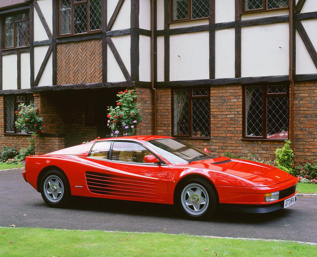 Ferrari Testarossa, 2000.