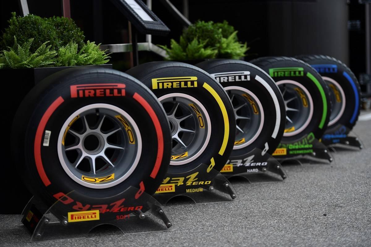Pirelli 2020 F1 Tire