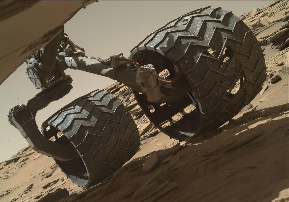NASA Mars Rover Aluminum Tread