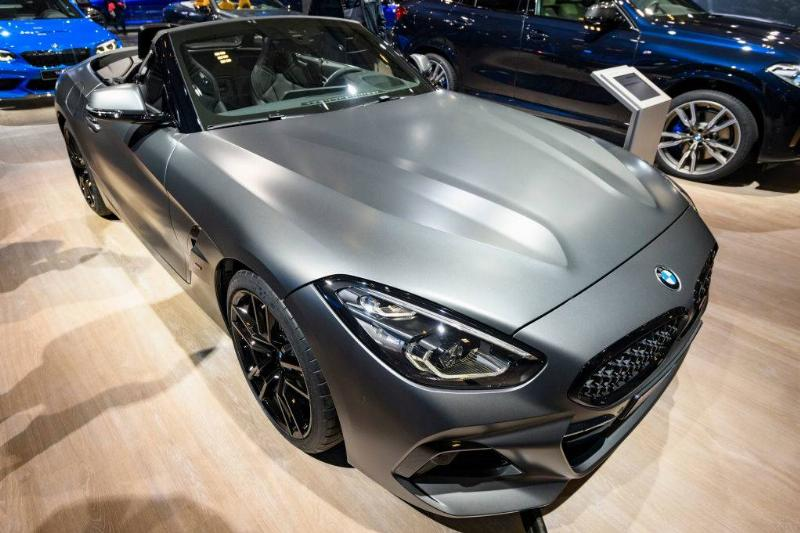 BMW Z4 M40i Roadster compact convertible