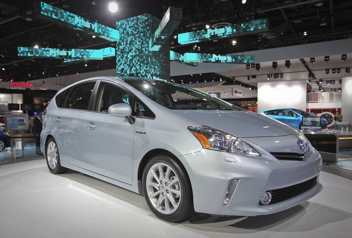 Toyota Prius display