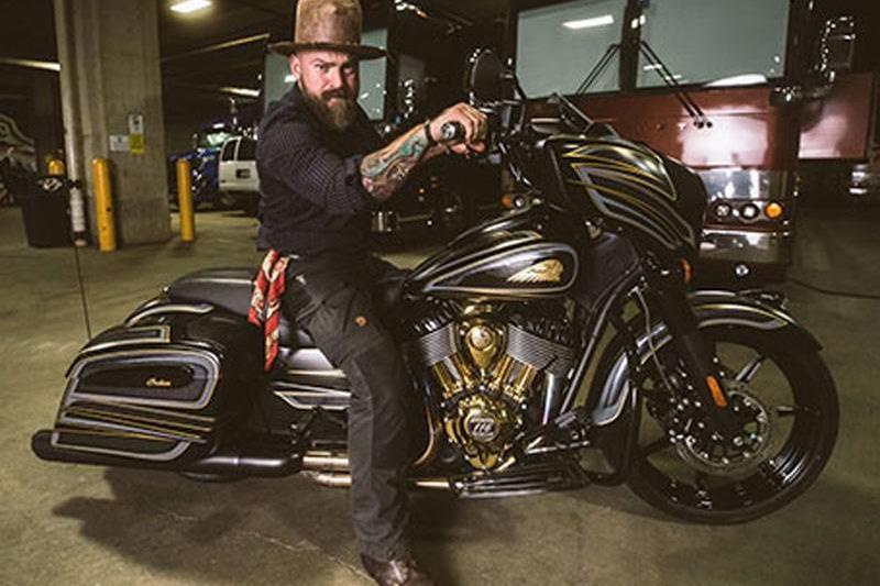 Zac Brown on bike