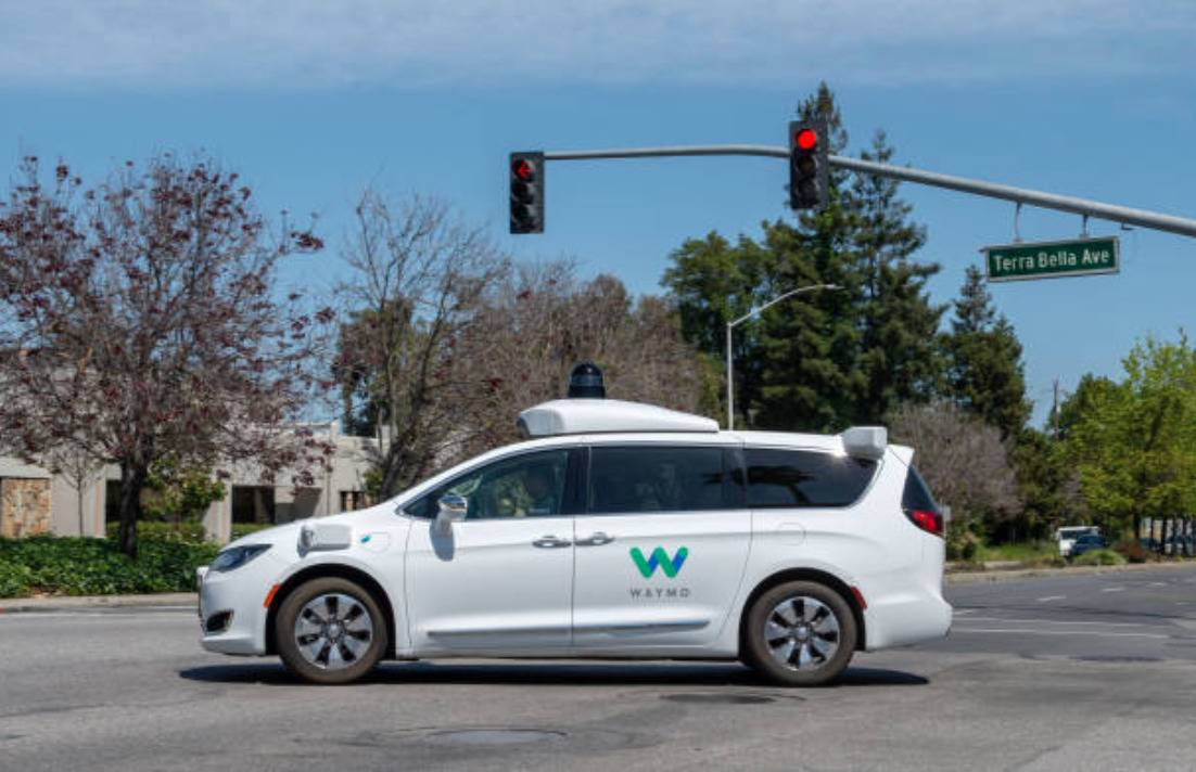 Google waymo car