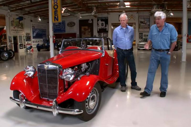 1952 MG TD Hot Rod - Jay Leno's Garage 1-58 screenshot