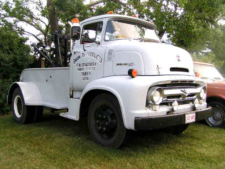 1956 Mercury 600 Tow Truck