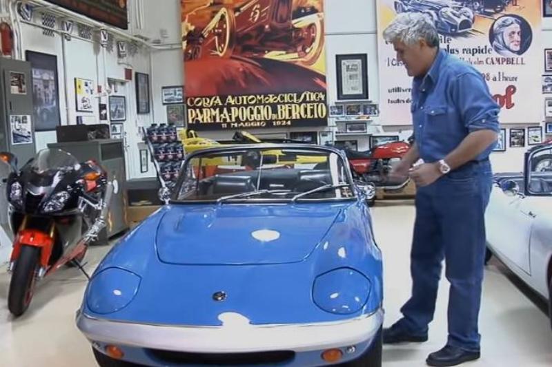 1969 Lotus Elan - Jay Leno's Garage 3-29 screenshot