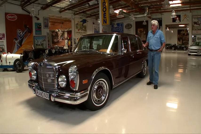 1972 Mercedes-Benz 600 Kompressor - Jay Leno's Garage 3-31 screenshot