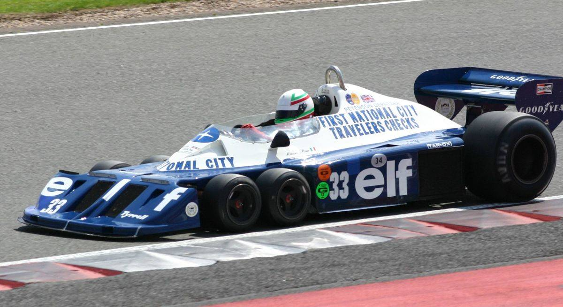 1977-spec Tyrrell P34B