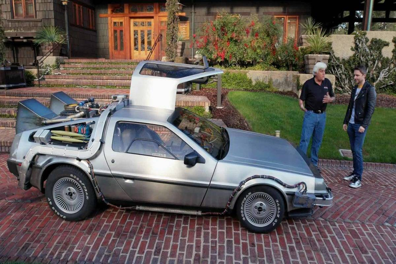 1981 Jay Leno DeLorean