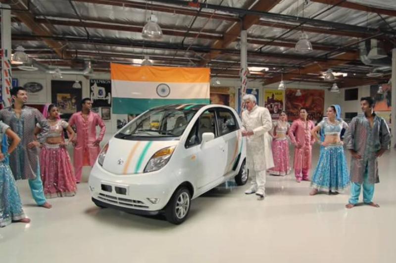 2012 Tata Nano_ From Bollywood to Hollywood - Jay Leno's Garage 5-16 screenshot