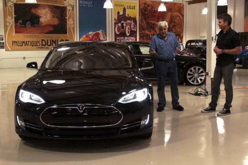 2012 Tesla Model S - Jay Leno's Garage 0-42 screenshot