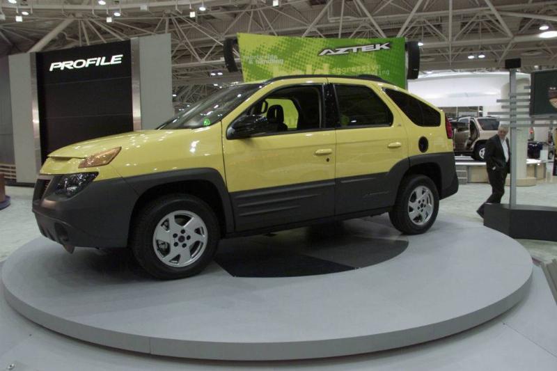 . -- New Pontiac Aztek SUV